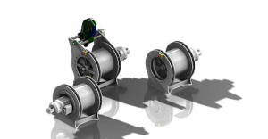 Compact Electric Winch Renderings
